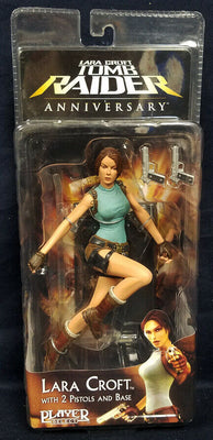 2006 NECA Player Select Series 1 Lara Croft Tomb Raider Anniversary Action Figure
