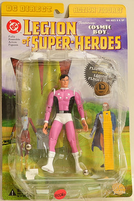 2001 DC Direct Legion of Super-Heroes Cosmic Boy Action Figure