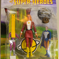 2001 DC Direct Legion of Super-Heroes Saturn Girl Action Figure