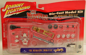 Playing Mantis Johnny Lightning The Munsters Koach and Drag-u-la Die Cast model Kit