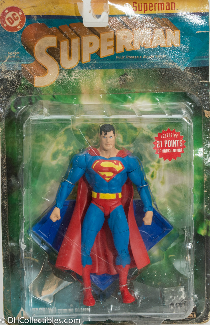 2003 DC Direct Series 1 Superman Action Figure - Loose RARE