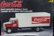 1998 AMT Coca-Cola Ford Louisville Delivery Truck Model Kit 1:25 Scale