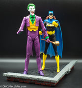 2003 DC Direct Classic Silver Age The Joker and Batgirl Deluxe Action Figure Set - Loose