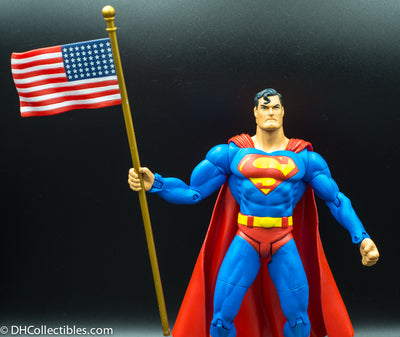 2003 DC Direct Justice League Alex Ross Superman Series 1 Action Figure - Loose