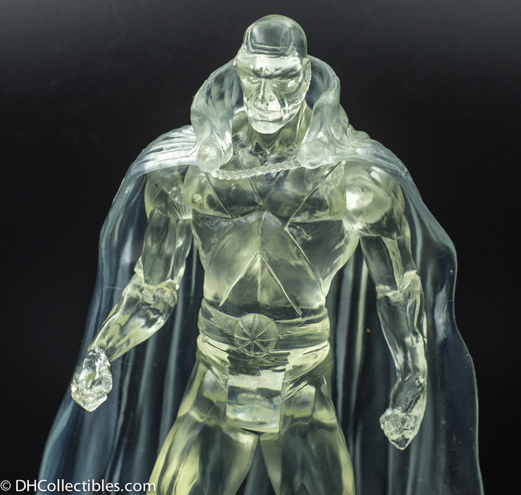 2007 DC Direct Alex Ross Justice League Series 5 Martian Manhunter Translucent Action Figure - Loose