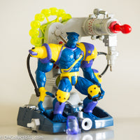1997 Toy Biz X-Men Beast with Motorized Deep Space Cosmic Blaster-  Loose