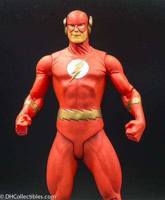 2005 DC Direct Justice League Alex Ross Series 1 The Flash - Action Figure Loose