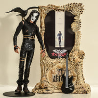 1999 Movie Maniacs 2 The Crow Feature Film Action Figure -  Loose