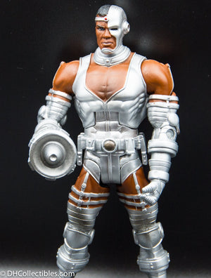 2008 DC Universe Cyborg Classics Wave 4  - Action Figure (includes Despero Right Arm)