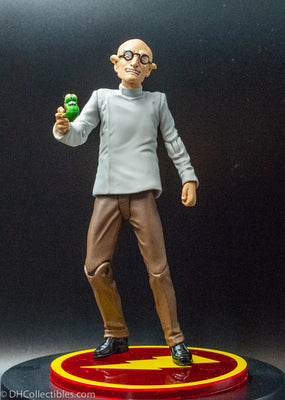 2007 DC Direct Shazam Dr Sivana with Mr Mind - Action Figures