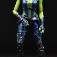 2014 Marvel Legends Guardians Of The Galaxy Gamora Action Figure - Loose