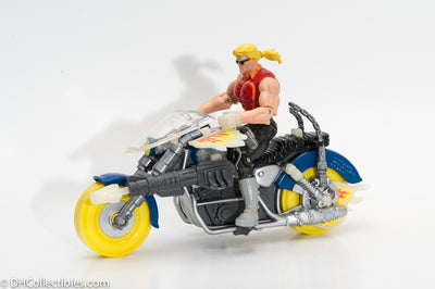 1995 Ghost Rider Blaze Spirits of Vengeance Cycle Action Figure Set - Loose