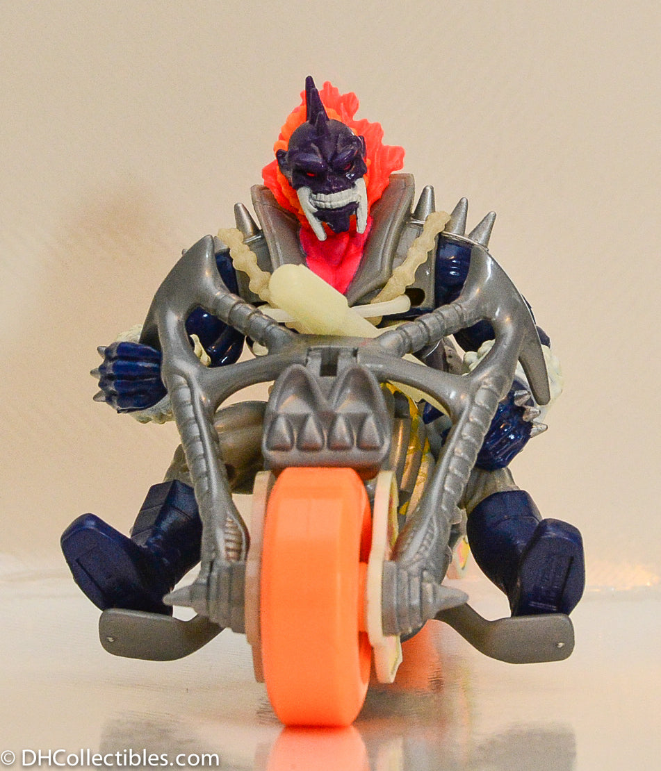 1995 Toybiz Ghost Rider Spirits Of Vengeance Rider & Cycle Action Figure - Loose