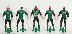 2010 DC Universe Classics Green Lanterns Light 5 Pack Complete - Loose