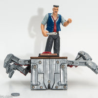 1999 Toy Biz Spider-Man Spider Power Series 2 J Jonah Jameson Action Figure - Loose