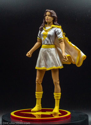 2007 DC Direct Shazam Mary Marvel (White Suit) - Action Figure