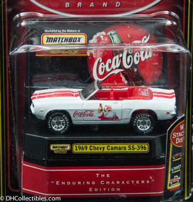 Matchbox Collectibles Coca-Cola 1969 Chevy Camaro SS-396  Diecast