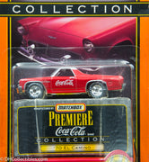 Matchbox Premiere Collection Coca-Cola '70 El Camino Diecast