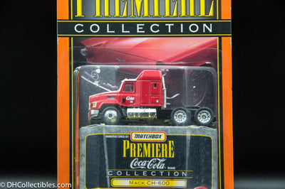Matchbox Premiere Collection Coca-Cola Mack CH-600 Diecast