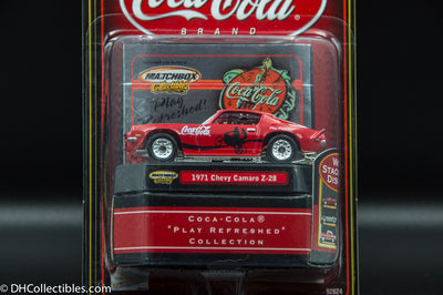 Matchbox Collectibles Coca-Cola 1971 Chevy Camaro Z-28 Diecast
