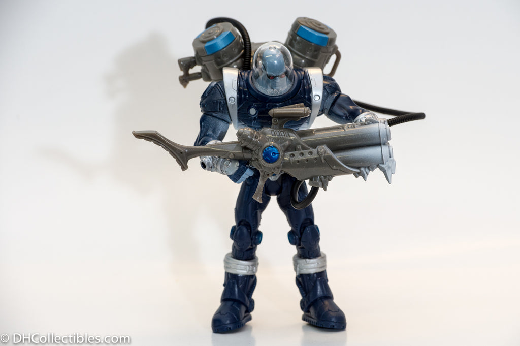 2003 DC Mr Freeze with Ice Cannon Action Figure - Loose