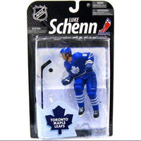 2010 McFarlane NHL Luke Schenn Toronto Maple Leafs Blue Series 23 Action Figure