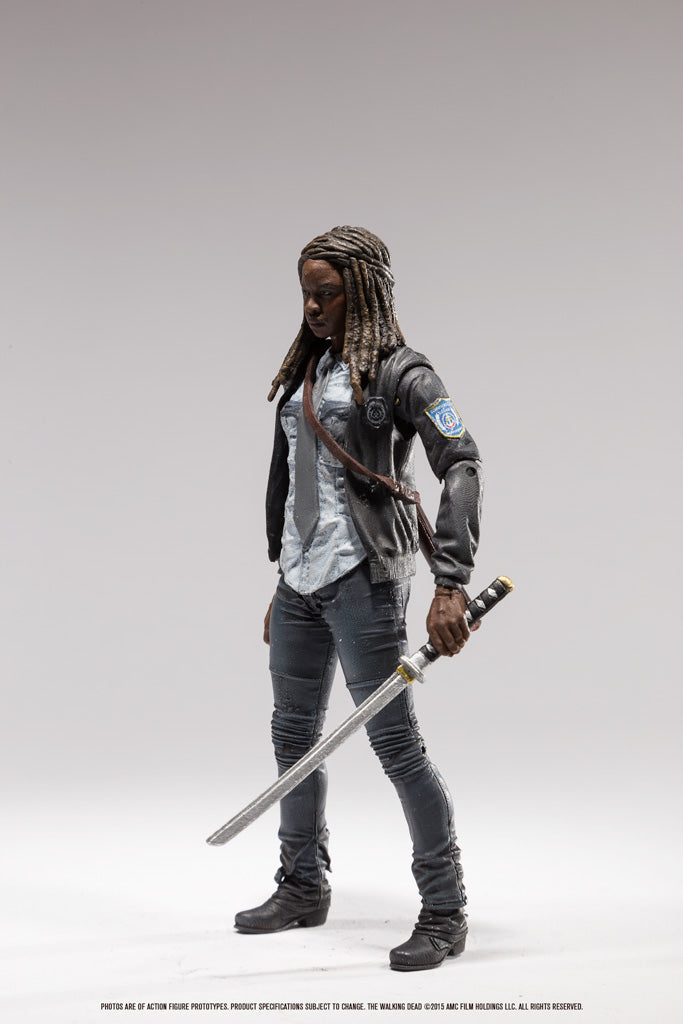 2016 McFarlane The Walking Dead Series 9 Michonne Action Figure