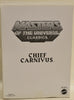 2010 Masters Of The Universe Classics Chief Carnivus MOTUC Action Figure