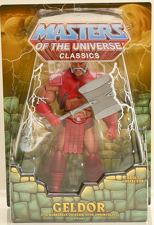 2013 Masters of the Universe Classics Club Eternia Geldor Action Figure