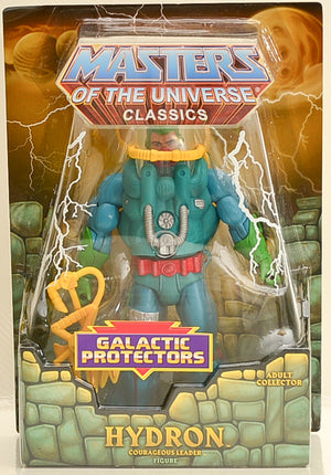 2013 Masters of the Universe Classics Galactic Protectors Hydron Exclusive Action Figure