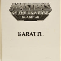 2013 Masters of The Universe Classics Karatti Action Figure