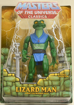 2014 Masters of the Universe Classics Lizard Man Action Figure