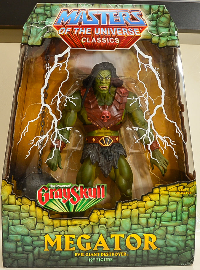 2011 Masters of The Universe Classics - Megator Action Figure