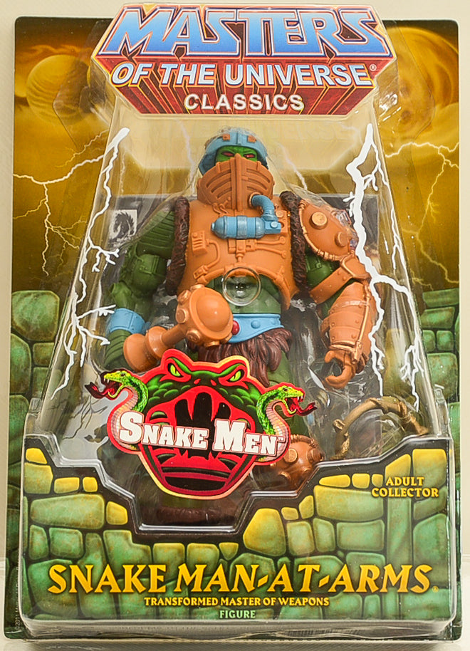 2012 Masters of the Universe Classics Snake Man-At-Arms Action Figure