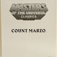 2009 Masters of the Universe Classics Club Eternia Count Marzo Action Figure