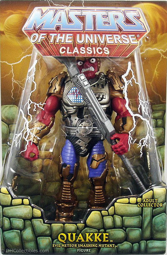 2017 Super 7 Masters of the Universe Quakke Action Figure