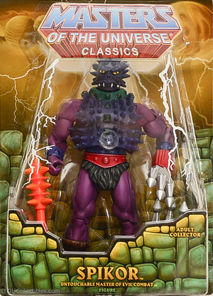 2012 Masters of the Universe Classics Spikor Action Figure