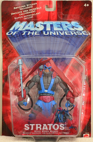 Masters of the Universe 2001 Stratos Action Figure