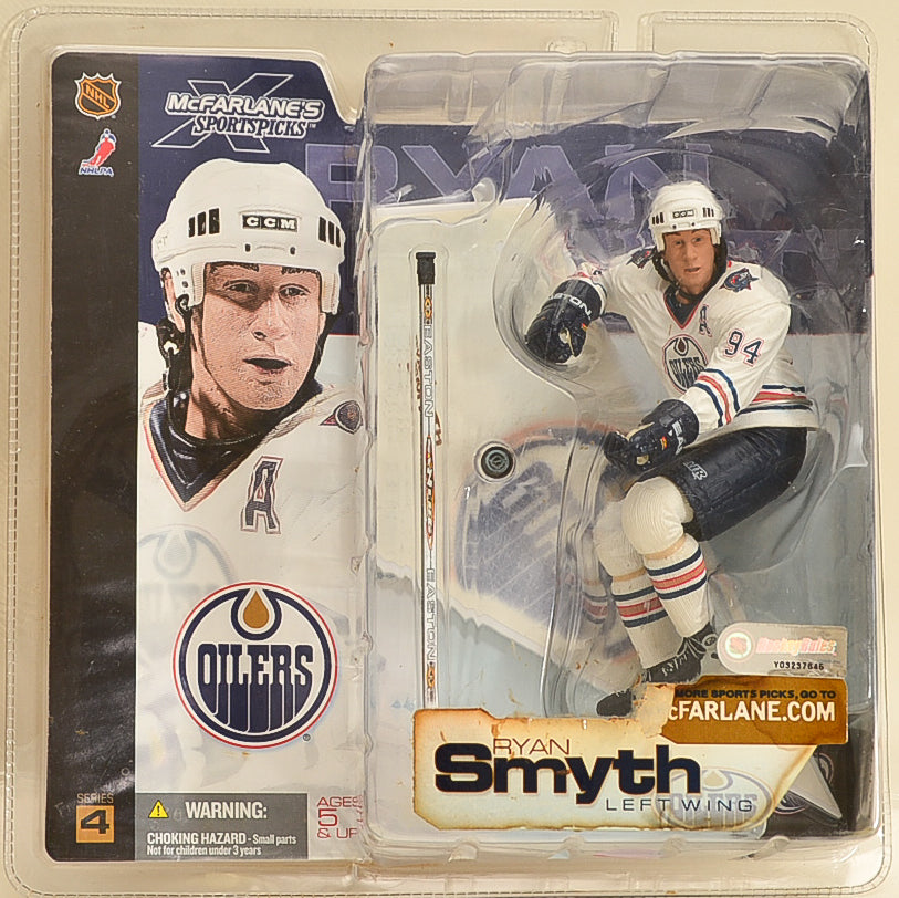 McFarlane NHL Series 4 - Ryan Smyth Left Wing Oilers - Action Figure