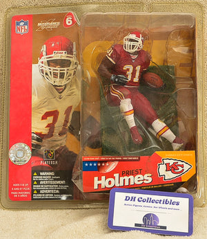 MacFarlane Sportspicks Series 6 - Priest Holmes - KC Red -8 inch Action Figure