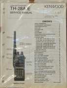 Kenwood TH-28A/E Amateur Radio Service Manual