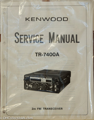 Kenwood TR-7400A Amateur Radio Service Manual