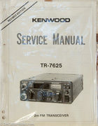 Kenwood TR-7625A Amateur Radio Service Manual