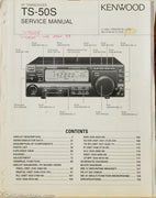 Kenwood TS-50S Amateur Radio Service Manual