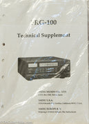 Yaesu FRG-100 Shortwave Receiver Service Manual