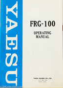 Yaesu FRG-100 Shortwave Receiver Operating Manual