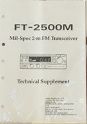 Yaesu FT-2500M Amateur Radio Service Manual