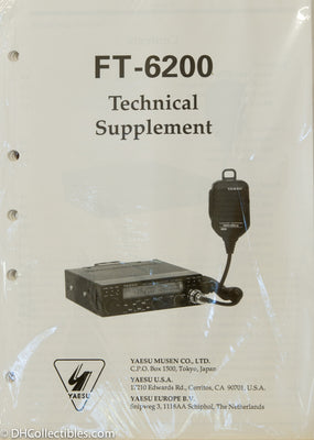 Yaesu FT-6200 Amateur Radio Service Manual