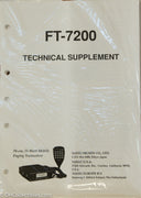 Yaesu FT-7200 Amateur Radio Service Manual