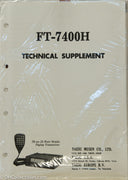 Yaesu FT-7400H Amateur Radio Service Manual